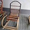 Кресло-качалка из лозы и ротанга арт 2809