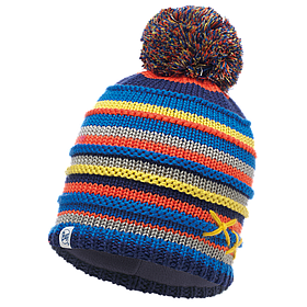 Детская Шапка BUFF CHILD KNITTED & POLAR HAT lasse blue