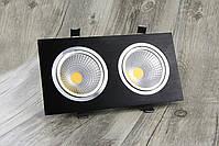 Светильник Downlight LED  BR-002 14вт 230в  черный  3000К IP20, фото 4