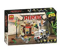 Конструктор BelaNinja Movie / Ниндзя 10714 Ограбление киоска в Ниндзяго Сити (аналог Lego Ninjago 70607)