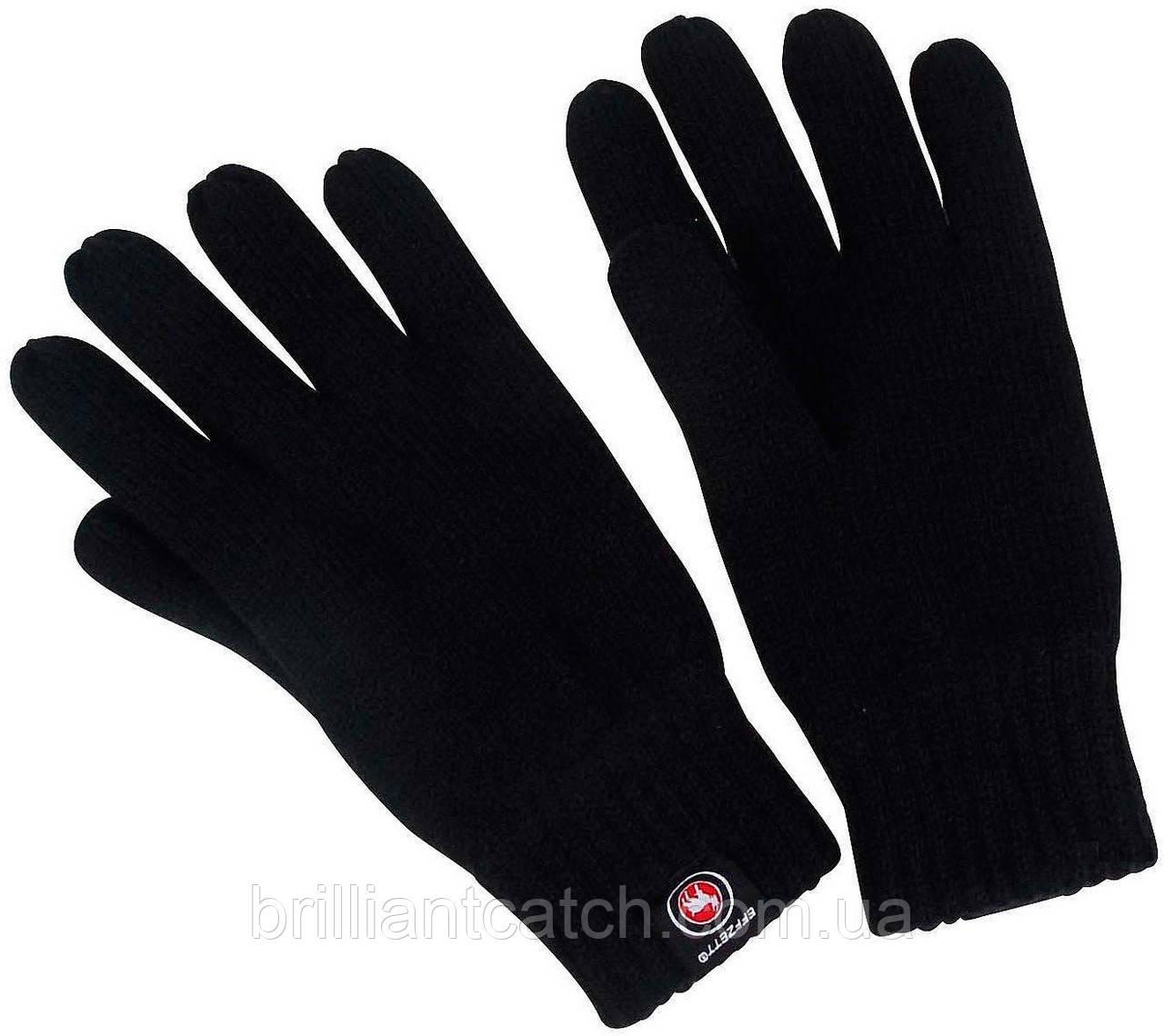 Перчатки DAM Effzett вязаные с флисом M,L,XL