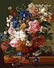 Набор-раскраска по номерам Натюрморт с цветами худ. ван Брюссель Паулюс Теодор