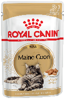 Royal Canin MAINE COON Adult - влажный корм для кошек породы мейн-кун старше 15 месяцев, 85г