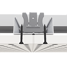 Акустичний гіпсокартон Кнауф 12/25 квадратна перфорація, фото 2
