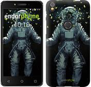"Чехол на iPhone X Космонавт с бабочками ""4028c-1050-2911"""