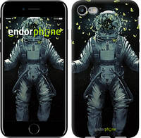 "Чехол на iPhone 7 Космонавт с бабочками ""4028c-336-2911"""