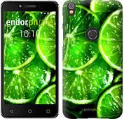"""Чехол на iPhone X Зелёные дольки лимона """"852c-1050-2911"""""""