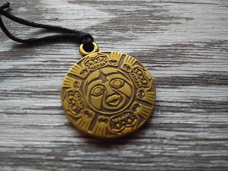 """Амулет талисман """"Индейский Дух Бога Солнца"""" укрепляет дух, подвигает на дела великой силы и храбрости"""