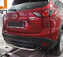 Защита заднего бампера на Mazda CX-5 (с 2012--) Can Otomotiv d42 mm