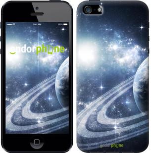 "Чехол на iPhone SE Кольца Сатурна ""173c-214-2911"""