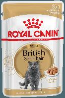 Royal Canin (Роял Канин) BRITISH SHORTHAIR Adult - влажный корм для британских кошек, 85г