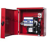 Топливо раздаточная колонка для перекачки диз топлива в металлическом ящике ARMADILLO, ADAM PUMPS (Италия)