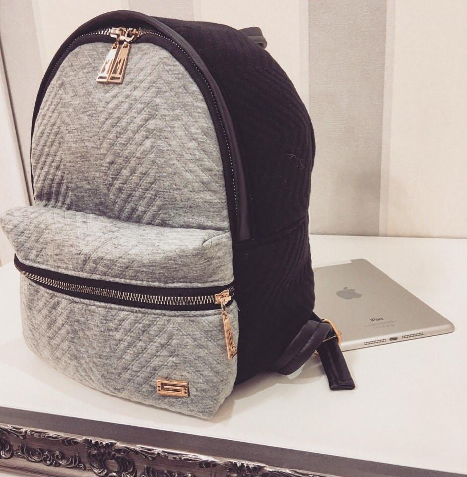 Рюкзак ткань- плотный стеганный трикотаж