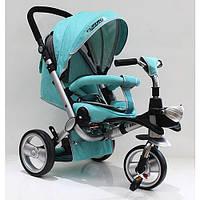 Велосипед трех колесный (Спинка положение лежа) M AL3645-14