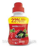 Сироп  для газированных напитков Red Berry (красная ягода) 750ml