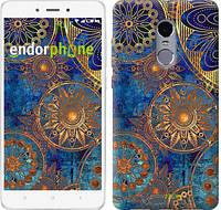 "Чехол на Xiaomi Redmi Note 4 Золотой узор ""678c-352-2911"""