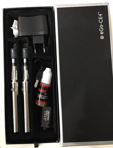 Электронная сигарета eGo-CE4  код 2589 АКБ, фото 2