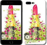 """Чехол на iPhone 7 Plus Помада Шанель """"4066c-337-2911"""""""