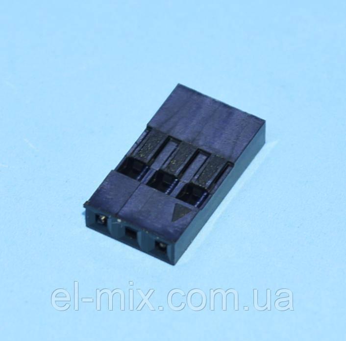 Разъем  BLS-3 на провод  (без контактов)