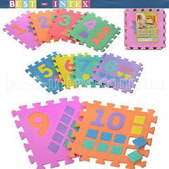 Коврик-мозаика M 0375 Цифры и Фигуры (30х30 см)