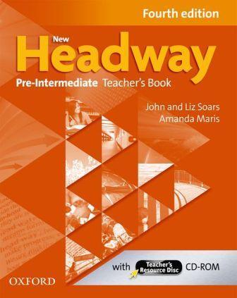New Headway 4th Ed Pre-Intermediate Teacher's Book with CD-ROM (книга учителя)