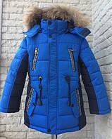 Куртка парка зимняя на мальчика 116 см, возраст 4,5 лет.