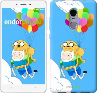 "Чехол на Xiaomi Redmi Note 4 Adventure time. Finn and Jake v3 ""2453c-352-2911"""