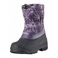 Зимние сапоги - сноубутсы  для девочки Reima 569324-5931. Размеры 24 - 35 .