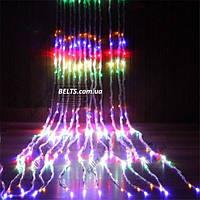 Светодиодная гирлянда Водопад на окно 480 LED, размер 3х2,5м (waterfall light)