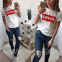 Хлопковая футболка LEVI*S