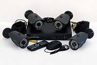 Комплект видеонаблюдения Green Vision GV-K-M 6304DP-CM01