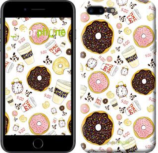 """Чехол на iPhone 7 Plus Пончики 25 """"2404c-337-2911"""""""