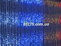 Гирлянда Водопад на окно на 560 светодиодов, 2х3м (гирлянда waterfall light)