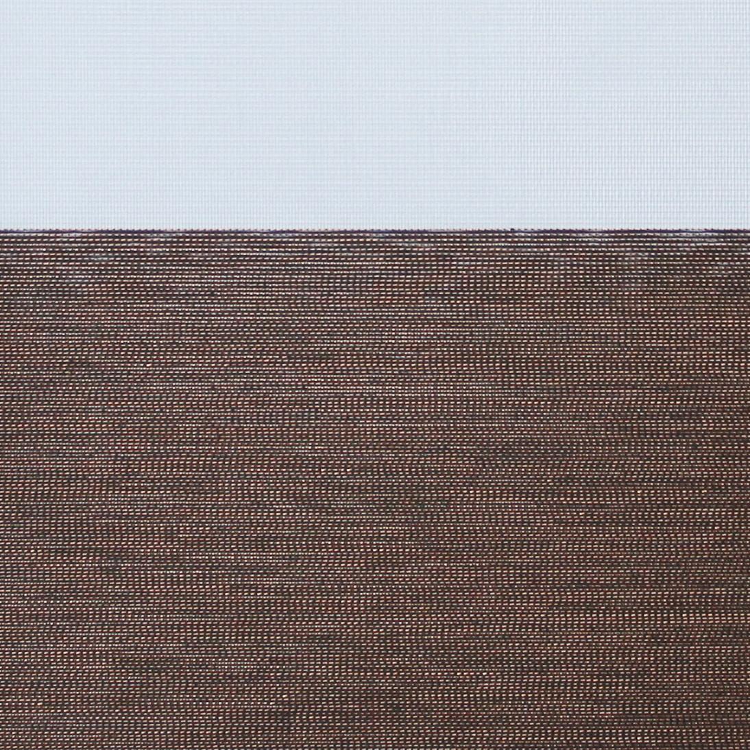 Рулонные шторы День-ночь Ткань Прада Бронза