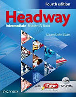 New Headway 4th Ed Intermediate Student's Book and iTutor DVD-ROM (учебник)