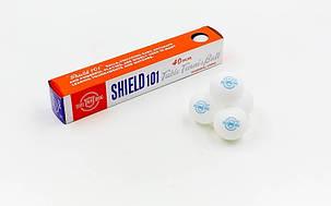 Набор мячей для настольного тенниса 6 штук SHIELD 101 G1801 , фото 2