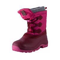 Зимние сапоги - сноубутсы  для девочки Reima 569328-3920. Размеры 20/21 - 32/33 .