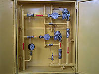 Установка газовая шкафная — УГШ-F-2FE25S (УГШ,ГРПШ,ШГРП,ШРП,ГРП,ШП)