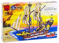 """Конструктор 307 """"Пиратский корабль"""" Brick"""