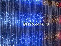 Гирлянда световой дождь Водопад на окно на 720 светодиодов, 2х3м (гирлянда waterfall light)