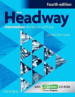 New Headway 4th Ed Intermediate Workbook with Key and iChecker CD (рабочая тетрадь)