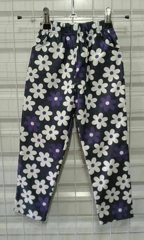 Детские штаны, лосины джинс с принтом, разные модели 92-116 см, фото 2