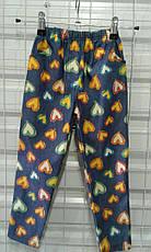 Детские штаны, лосины джинс с принтом, разные модели 92-116 см, фото 3