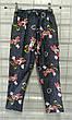 Детские штаны, лосины джинс с принтом, разные модели 92-116 см, фото 4