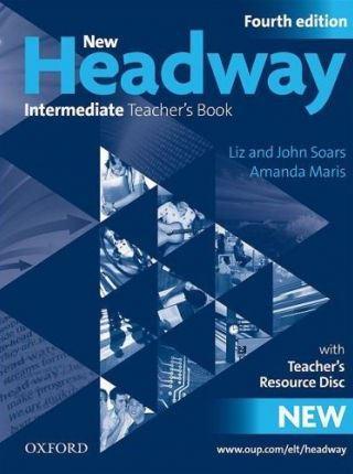 New Headway 4th Ed Intermediate Teacher's Book with CD-ROM (книга учителя)