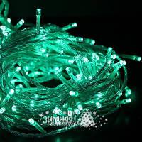 Светодиодная гирлянда LED 200  зеленая ( гирлянда на елку зеленая )