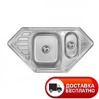 Кухонная мойка Imperial 9550-С Satin двойная
