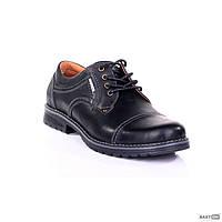 Мужские туфли кожаные 009 ч.