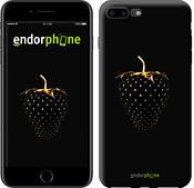 """Чехол на iPhone 7 Plus Черная клубника """"3585c-337-2911"""""""