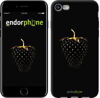 """Чехол на iPhone 7 Черная клубника """"3585c-336-2911"""""""